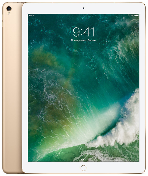 Apple iPad Pro 12.9 512Gb Wi-Fi + Cellular Gold (Золотой)