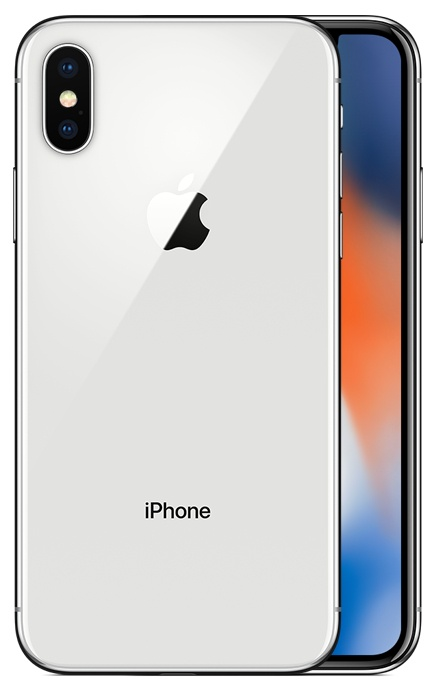 Apple iPhone X 256Gb Silver (Серебристый)