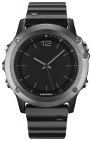 Garmin Fenix 3 Sapphire (Metal) HRM +VARIA Rearview Radar Bundle