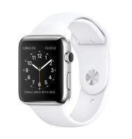 Apple Watch Sport 38mm with Sport Band White (Белый спортивный ремешок) MJ2T2