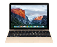 "Apple MacBook 12"" 2016 Gold MLHE2 (Intel Core M3 1.1GHz - 8GB - 256GB - HD Graphics 515)"