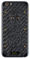 iPhone 6S Designa Individual - Carbon Boss Skull Gold