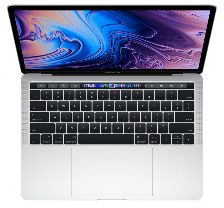 "Apple MacBook Pro 13 2018 Silver MR9V2 (512Gb SSD/Core i5 2300 Mhz/13.3""/2560x1600/8.0Gb/Intel Iris Plus Graphics 655)"