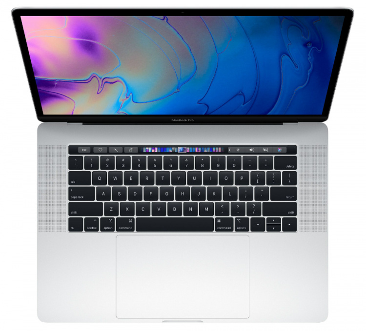 "Apple MacBook Pro 15 2018 Silver MR972 (512Gb SSD/Core i7 2600Mhz/15.4""/2880x1800/16.0Gb/Radeon Pro 560x 4Gb/MacOS)"