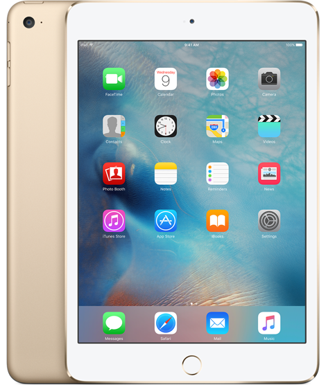 Apple iPad Mini 4 32Gb Wi-Fi Gold (Золотой)