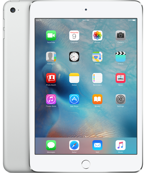 Apple iPad Mini 4 32Gb Wi-Fi + Cellular Silver (Серебристый)