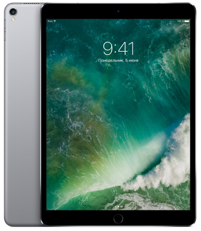 Apple iPad Pro 10.5 512Gb Wi-Fi Space Gray (Серый космос)
